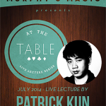 At The Table Live Lecture Patrick Kun