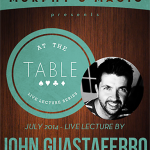 At The Table Live Lecture John Guastaferro