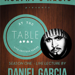 At The Table Live Lecture Daniel Garcia