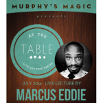 At The Table Live Lecture Marcus Eddie
