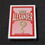 デックレビュー – ASK ALEXANDER